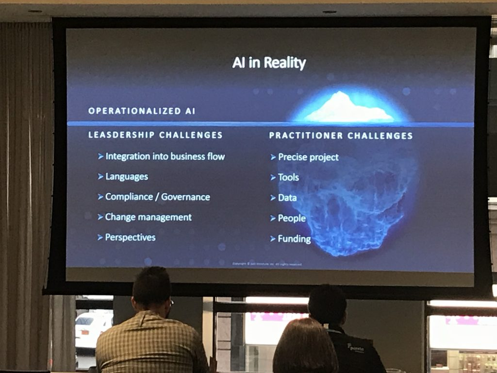 Unleash Analytics Making AI and Analytics Real Event - 2019