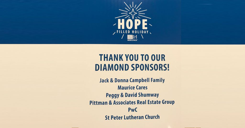 Thank you to our diamond sponsors